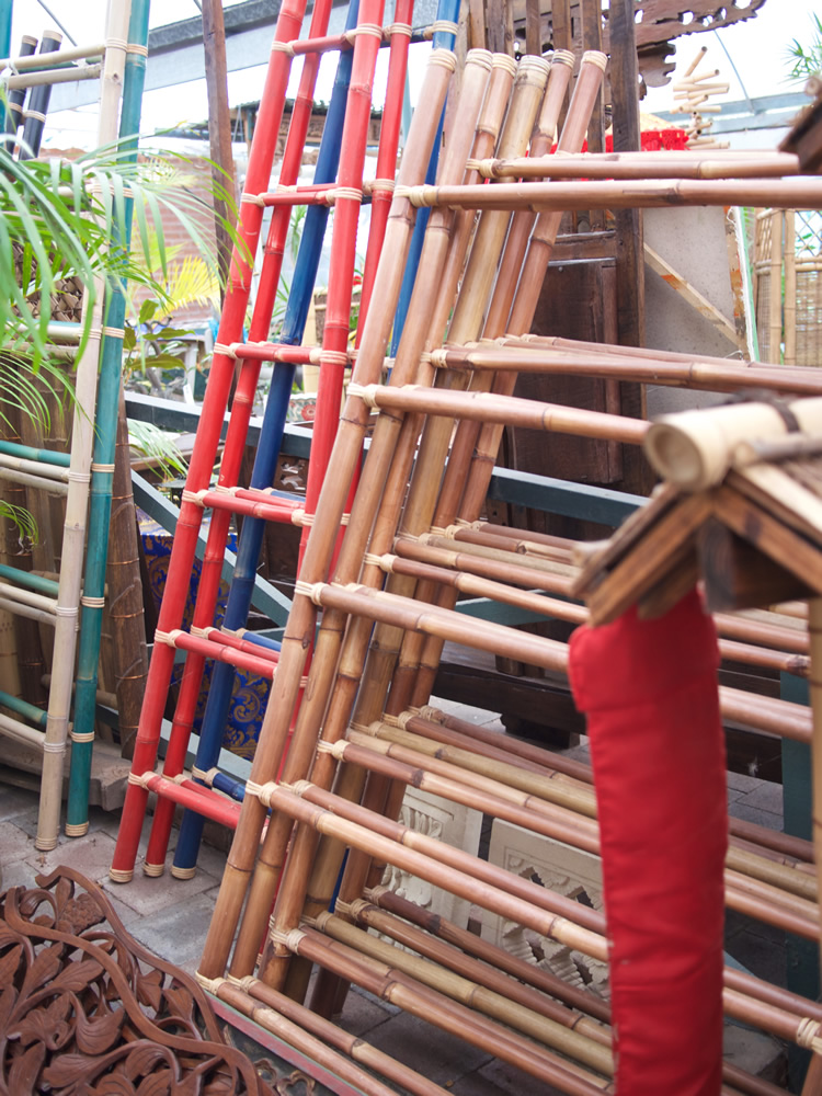 Bamboo Ladders - Bali From $35-to $55