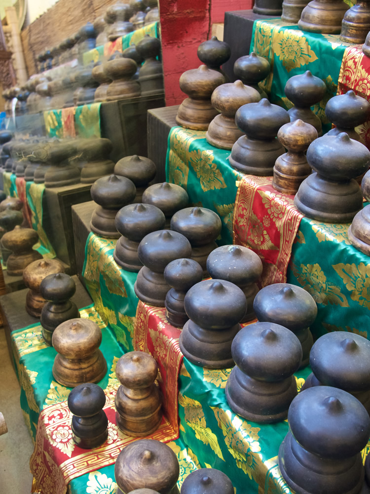 Post Finials Bronze - Java From $15 to $35 For Bridge or Fence