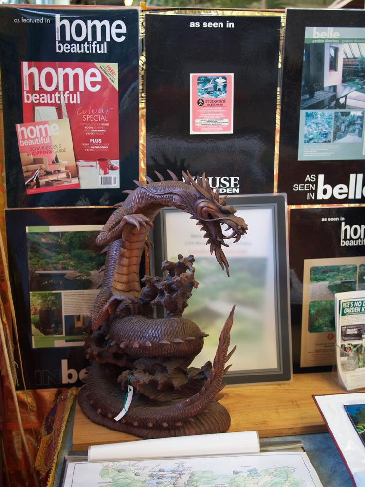Coiled Dragon Wood Bali $575