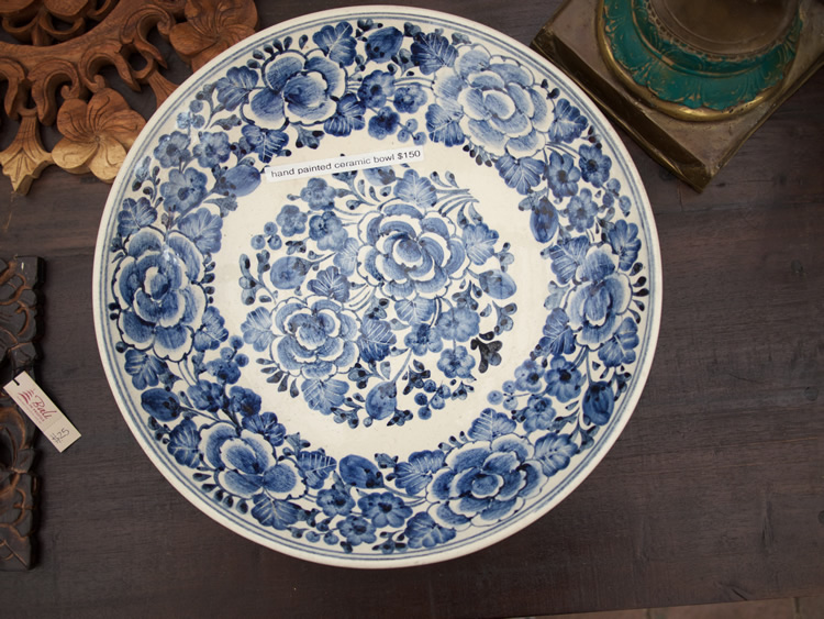 Chinese Ceramic Plate - Java $150