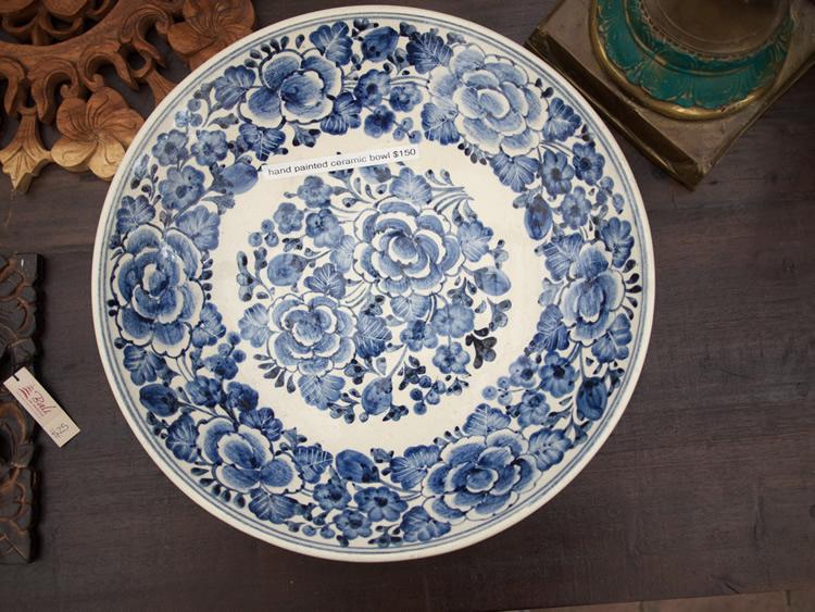 Chinese Ceramic Plate - Java $150