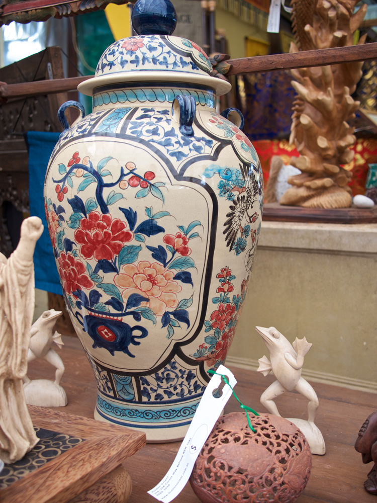 Chinese Ginger Jar Hand Painted $950