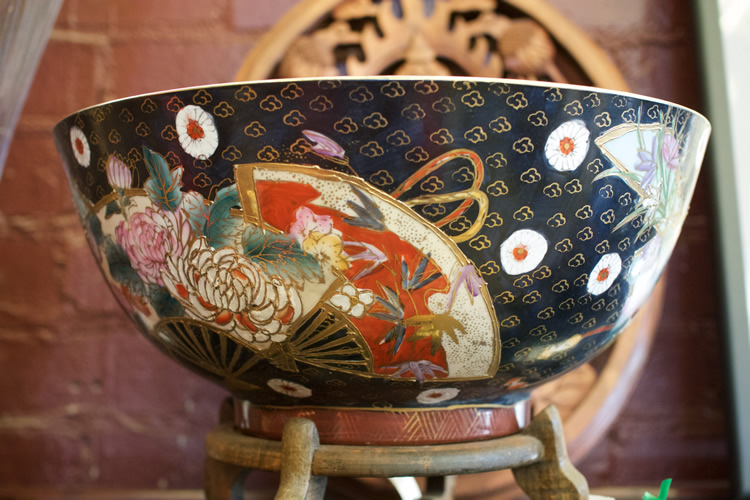 Cloisone Chinese Antique Bowl $650 each<br> $1,200 pair