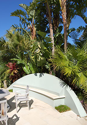 Tropical Seating Area - Private Garden by Imperial Gardens Landscape