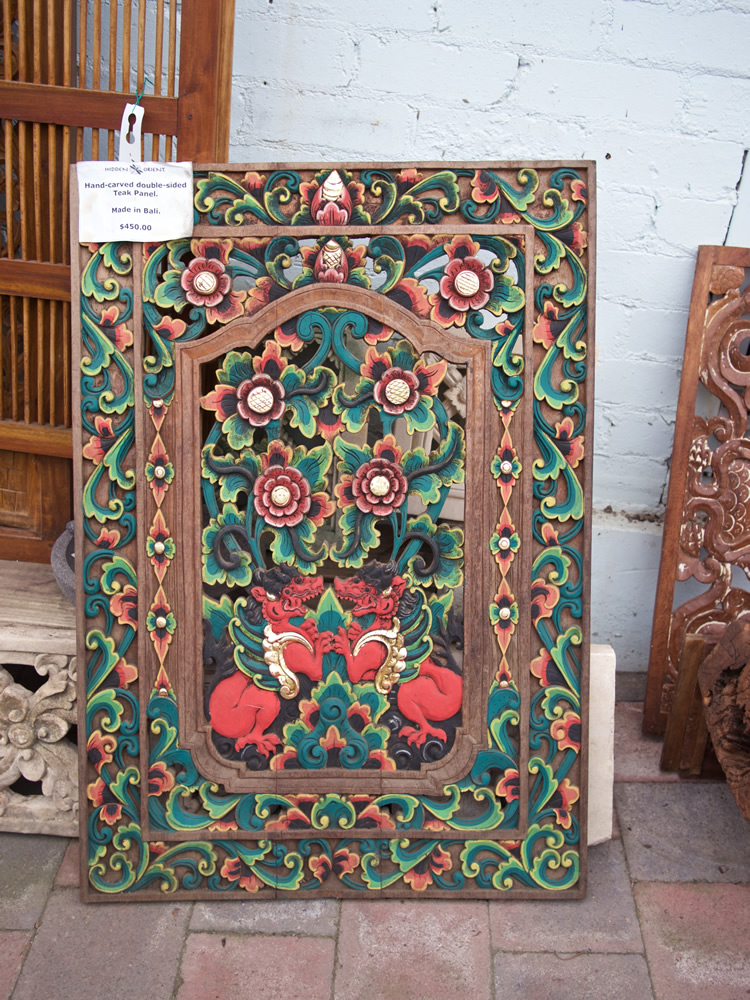 Double Sided Window Panel - Bali $450