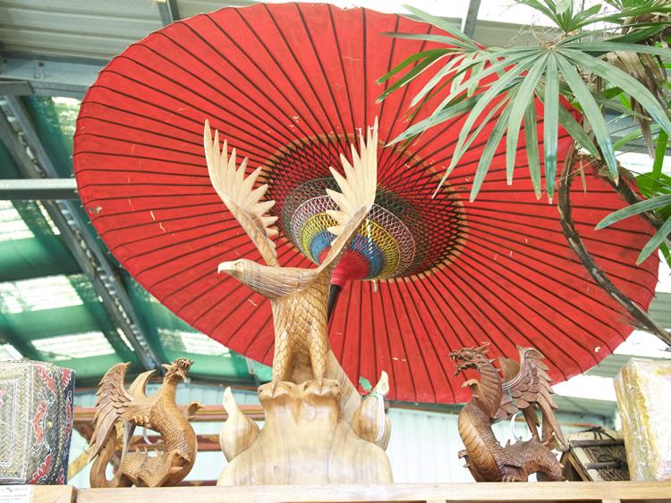 Eagles and Dragons Wood Bali