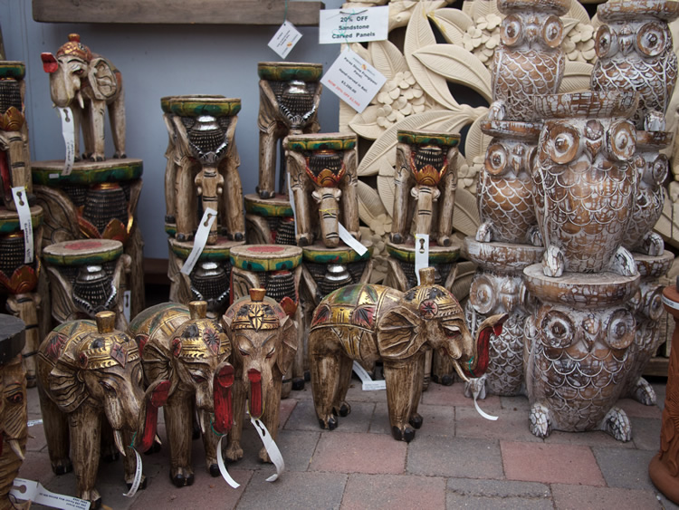 Elephants and Owls Wood Bali From $30 to $155
