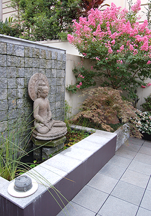 Floating Buddha - Private Garden by Imperial Gardens Landscape
