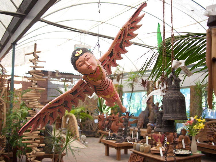 Flying Angel Wood Bali $380