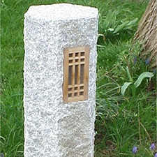 Guide Stone <br>h90cm 21cm x 21cm $520