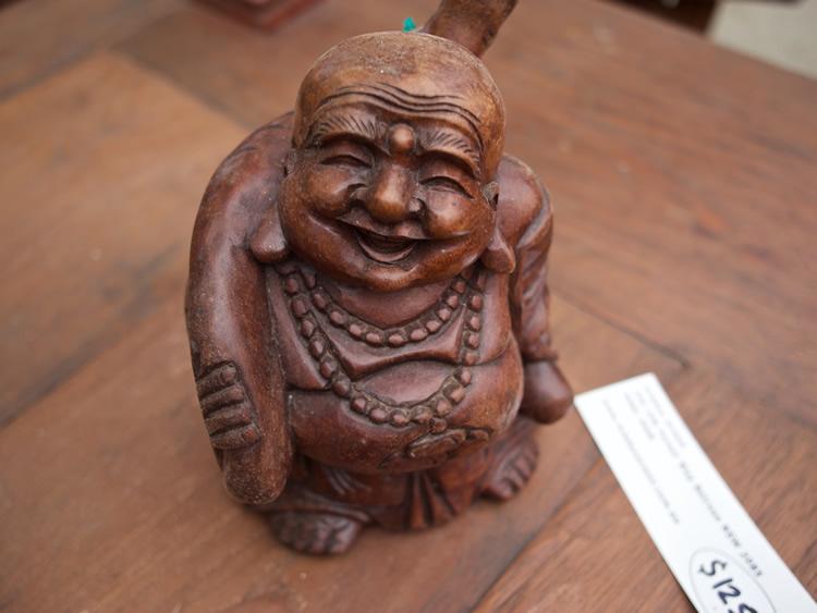 Hotie Buddha Wood Bali $35