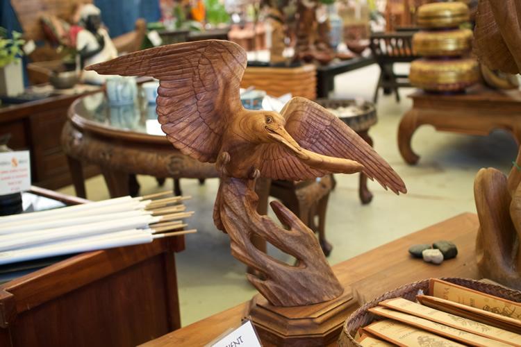Kingfisher Wood Bali $275