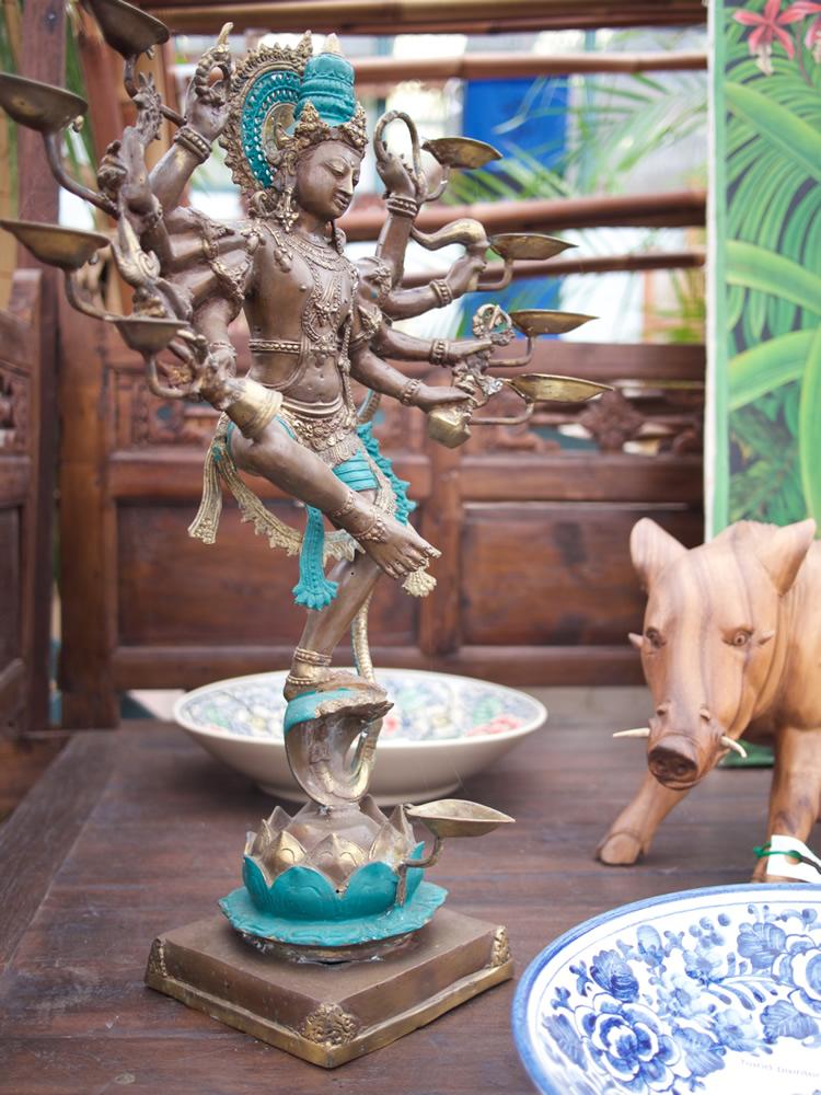 Nateraja Oil Lamp Bronze - Java $1,450