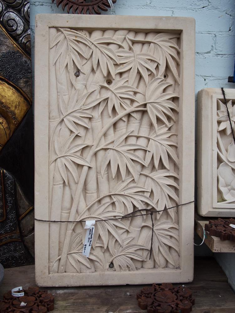 Paras Stone Bamboo Wall Panel - Bali $900