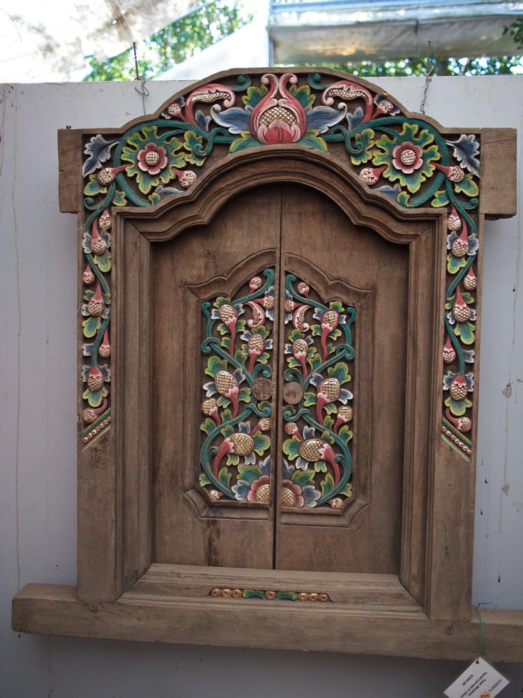 Teak Window - Bali $300