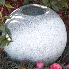 Teppasugata Granite China<br> d45 h40cm $570
