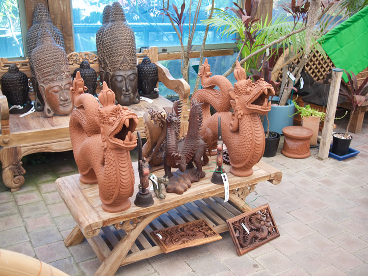 Terracotta Dragons - Bali $285 - Also can be used as water feature