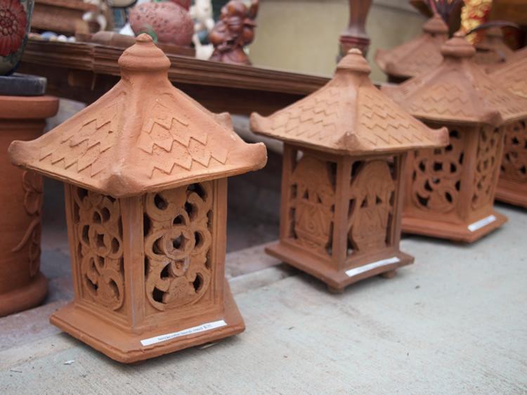 Terracotta Lanterns - Bali $30, $40, $50