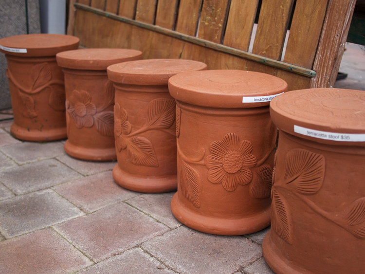 Terracotta Pot/Plinth <br> $150 <br> $175 <br> $210