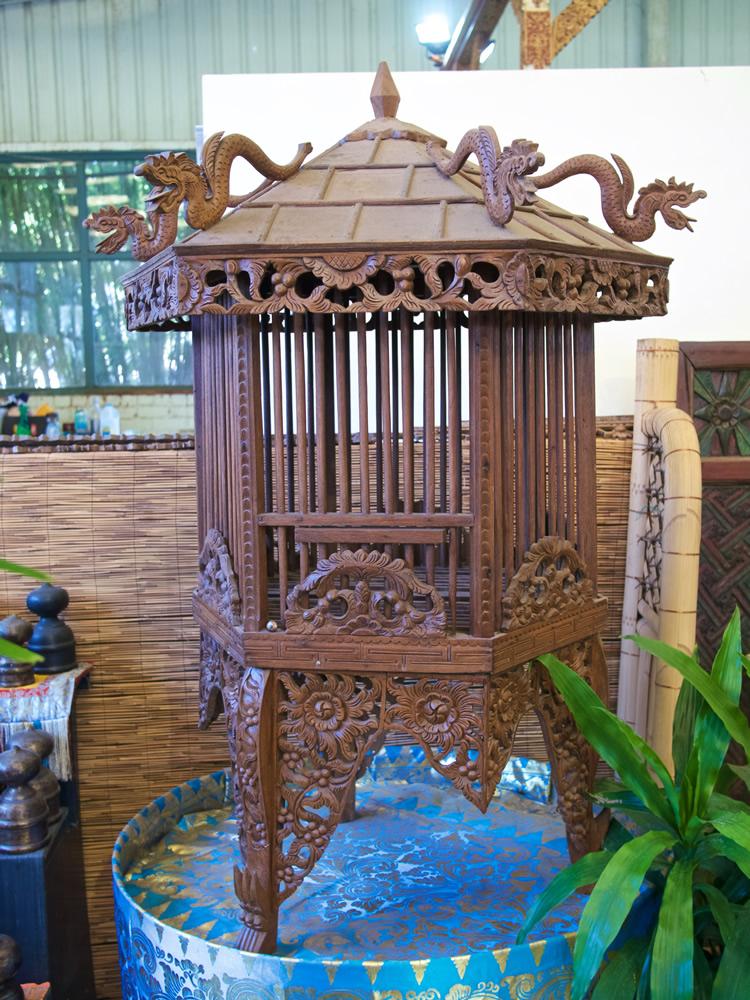 Birdcage Ornamental Wood Java $800