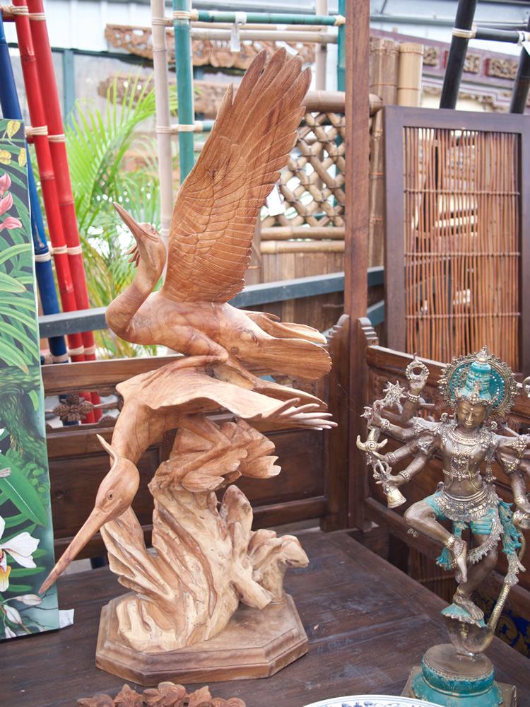 Cranes Wood Bali $1,850
