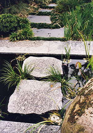 Path over water - Private Garden by Imperial Gardens Landscape