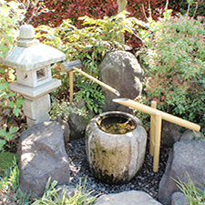 Three Piece Spout & Shi Shi Odoshi