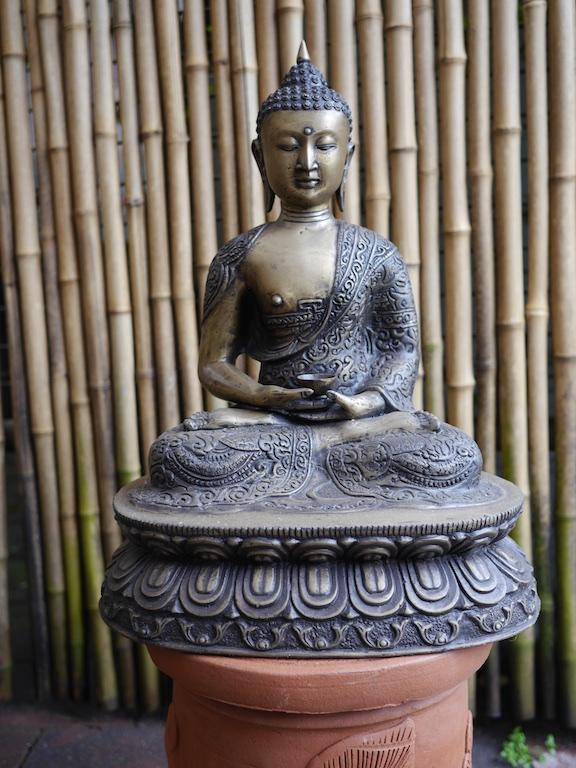 Buddha Thai Style Brass - Bali $250