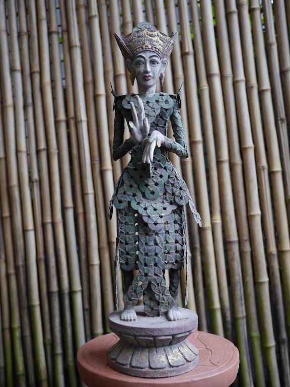 Ceremonial Coin Figure Bali Pair $380