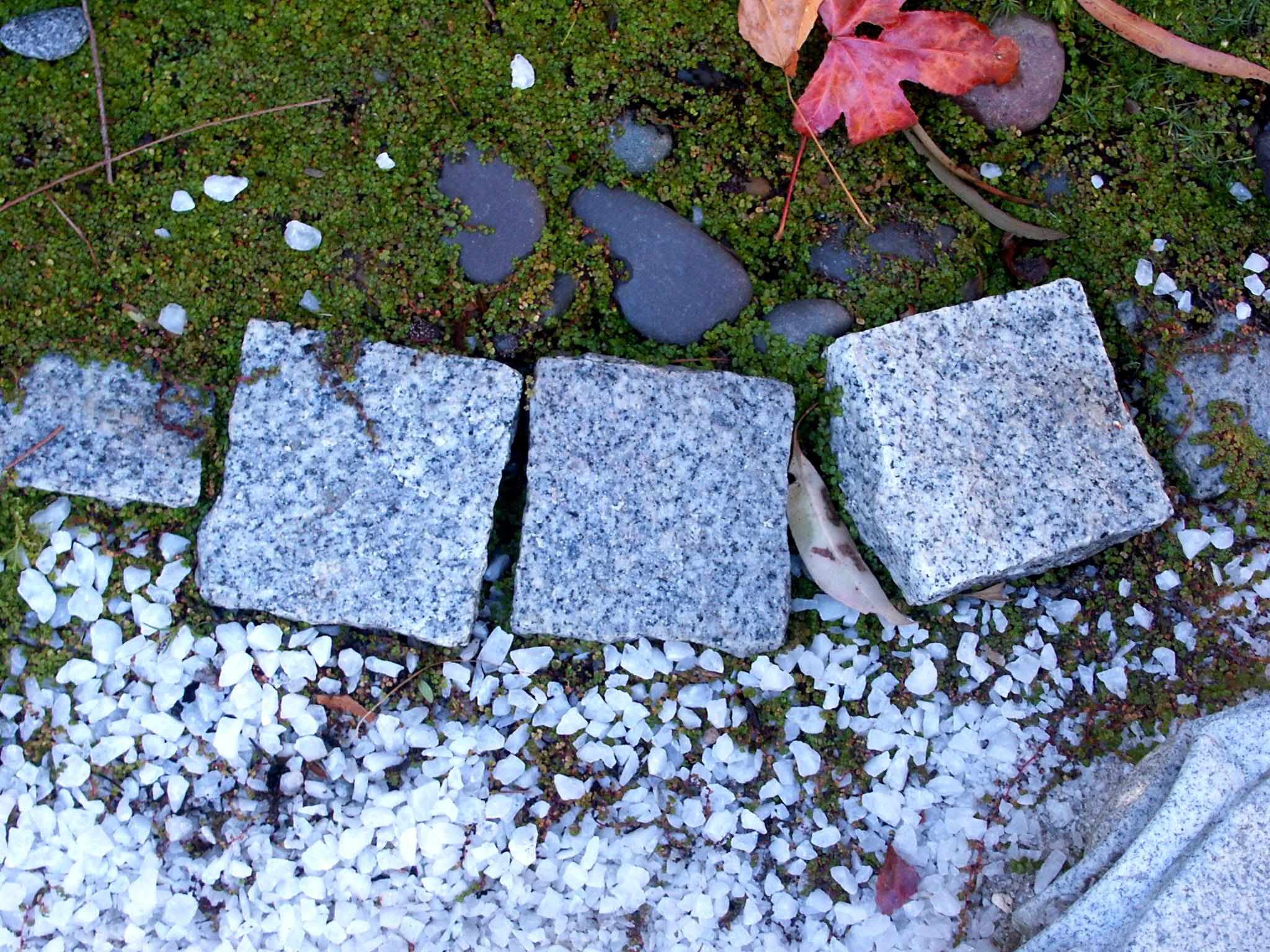 Cobblestone Granite 10x5x5cm $2.20 <br> 10x10x5 $3.50 <br> 15x15x5 $6