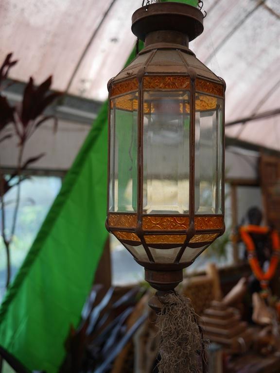 Lantern Hanging Glass Bali