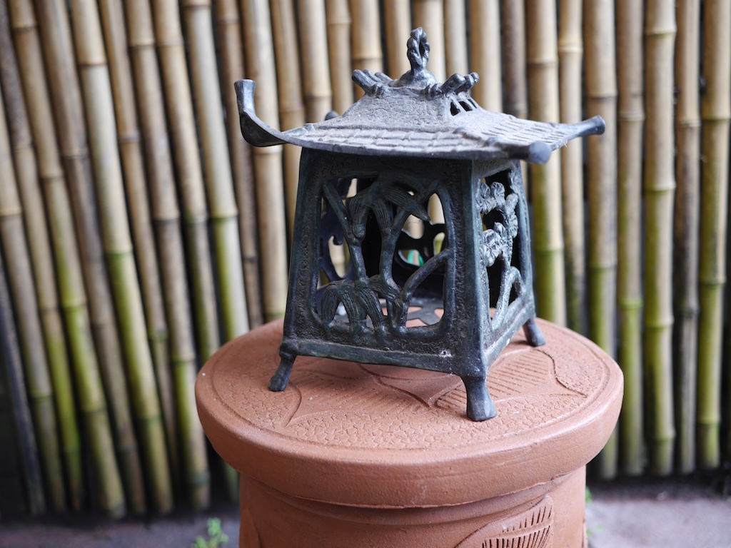 Lantern Japanese Bronze Java $360