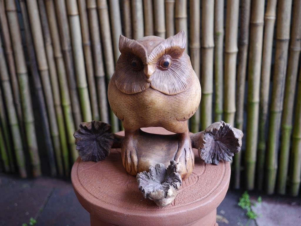 Owl Wood Bali $160