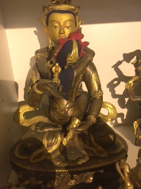 Tibetan Buddhist bronze from Nepal $1,150