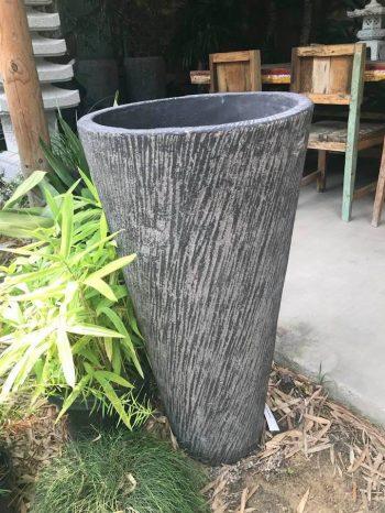 Straight Conical shaped Bali-crete bowl 91cm H $550