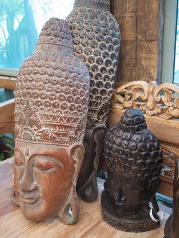 Buddha Masks Wood Bali From $80 to $200