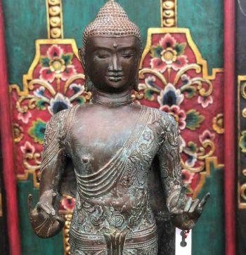 Standing Bronze Thai Buddha $2250