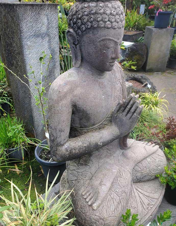 Carved Stone Buddha $2250