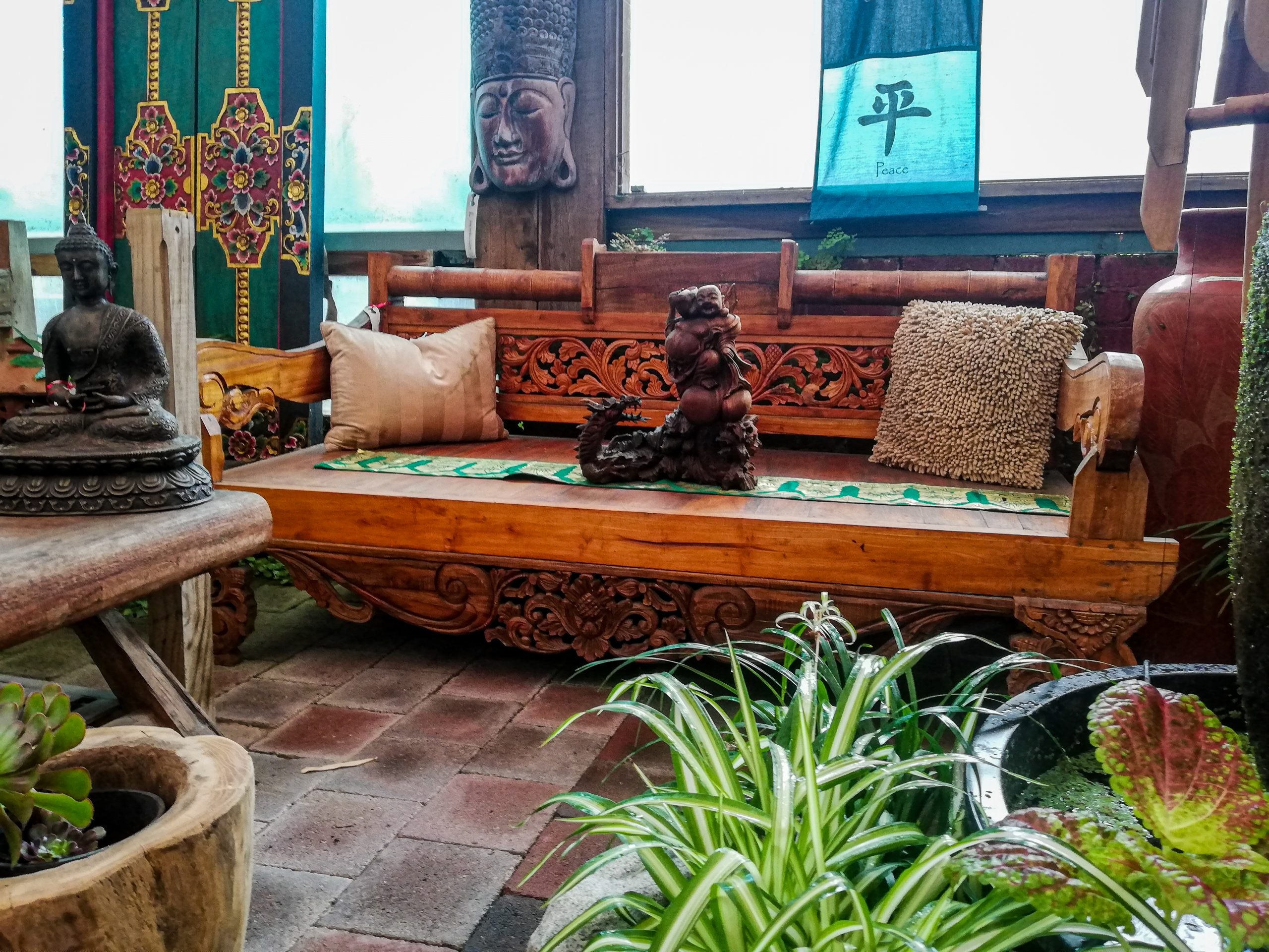 Balinese Day Bed <br> $2,500