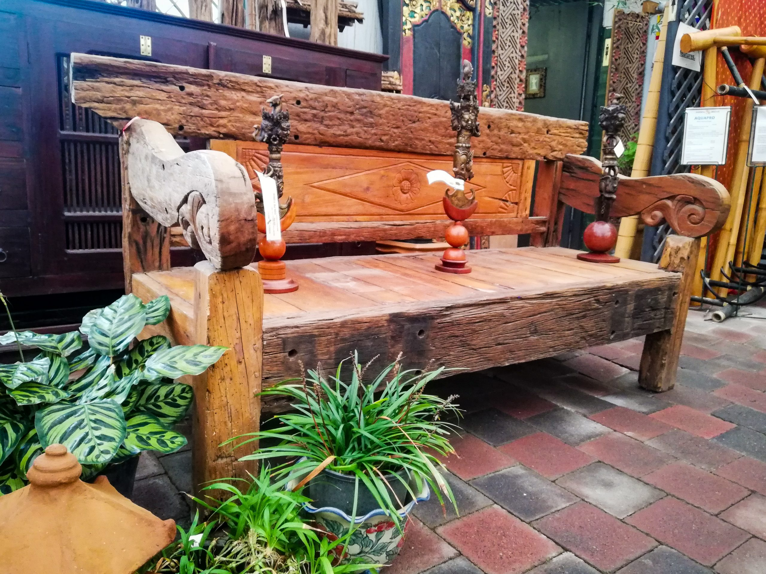 Balinese Day Bed <br> $2,200