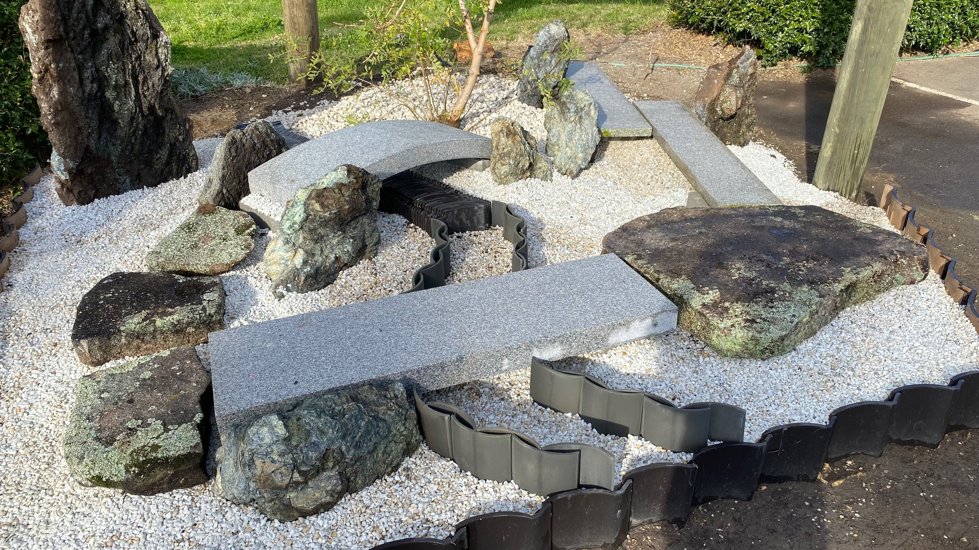 Flat Granite Bridges <br>120cm long 9.5cm thick $535<br>150cm long 14.5cm thick $820